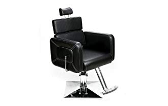 BarberPub Classic Hydraulic Barber Chair Salon Styling Beauty Spa Chair Black 2065