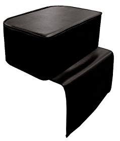 D Salon Barber Child Booster Seat Cushion Beauty Salon Spa Equipment Styling Chair, Black, 3 Pound
