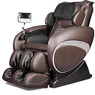 Osaki OS4000TB Model OS-4000T Zero Gravity Massage Chair, Brown, Computer Body Scan, Zero Gravity...