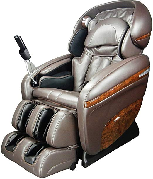 Osaki OS-3D Pro Dreamer B Model OS-3D Pro Dreamer Zero Gravity Massage Chair, Brown, Large LCD Display, 3D Massage Technology, 2 Stage Zero Gravity, 2nd Generation S-Track, Accupoint Technology
