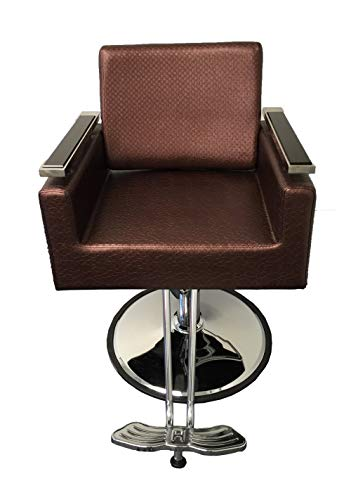 New Luxurous Contemporary Hydraulic Barber Chair Styling Salon Spa Beauty DS-SC2200 (Coffee)